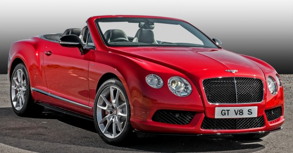 Introducing the Bentley Continental GT V8 S Convertible
